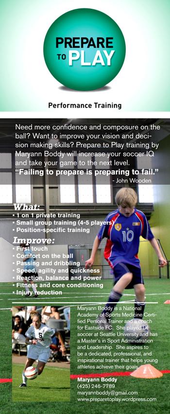 Prepare To Play The Performance Training Blog